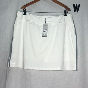 NWT Adidas white RNG wear skort XL